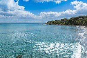 Cala Liberotto crystal waters