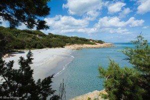 Scorcio di una delle spiagge di Cala Liberotto