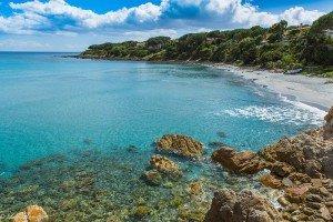Spiaggia e mare di Sas Linnas Siccas